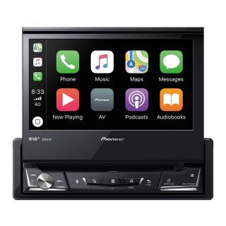 Pioneer AVH-Z7200DAB DAB+/CD/DVD/Bluetooth/USB multimédia fejegység
