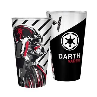 STAR WARS - Large Glass - 460ml - Vader - box - Nagy pohár AJÁNDÉKTÁRGY