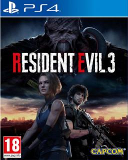 Resident Evil 3 (használt) PS4
