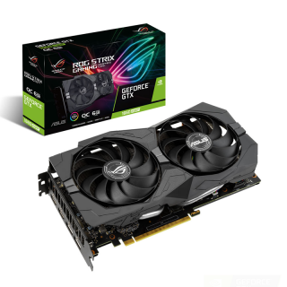 Asus Videokártya - nVidia ROG-STRIX-GTX1660S-O6G-GAMING (6144MB, DDR6, 192bit, 1845/14002Mhz, 2xHDMI, 2xDP) PC