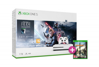 Xbox One S 1TB + Star Wars Jedi: Fallen Order + The Division 2 XBOX ONE