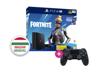 PlayStation 4 (PS4) Pro 1TB + Fortnite Neo Versa Bundle + PS4 Sony Dualshock 4 Kontroller