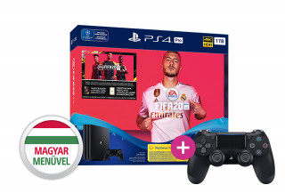 PlayStation 4 (PS4) Pro 1TB + FIFA 20 + PS4 Sony Dualshock 4 Kontroller PS4