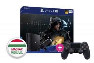 Playstation 4 (PS4) Pro 1TB + Death Stranding + PS4 Sony Dualshock 4 Wireless Kontroller PS4