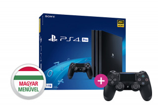 Playstation 4 Pro 1TB + PS4 Sony Dualshock 4 Kontroller