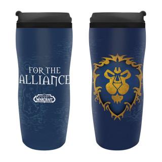 WORLD OF WARCRAFT - Travel mug Alliance AJÁNDÉKTÁRGY