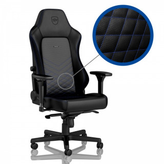 Noblechairs HERO Fekete/Kék Gamer szék (NBL-HRO-PU-BBL) (Bontott)
