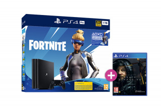 PlayStation 4 (PS4) Pro 1TB + Fortnite Neo Versa Bundle + Death Stranding PS4