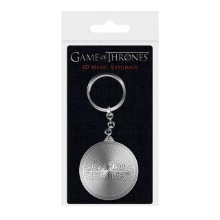 Game of Thrones 3D Metal Keychain Logo 6 cm - Fém kulcstartó
