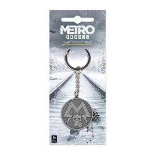 Metro Exodus Metal Keychain Spartan Logo - Fém kulcstartó Ajándéktárgyak