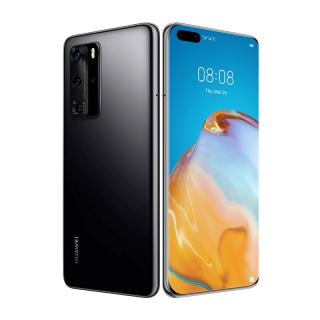 Huawei P40 Pro Dual SIM 256GB Fekete (5G) Mobil