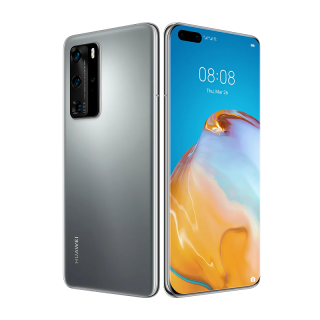 Huawei P40 Pro Dual SIM 256GB Fagyos Ezüst (5G)