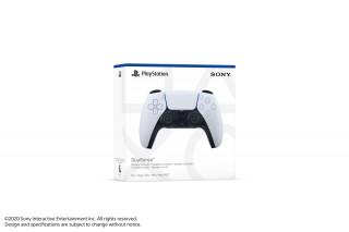 PlayStation 5 (PS5) DualSense kontroller (Fehér-fekete) [[__parameters.platform.list_values.playstation5.platform_icon__]]