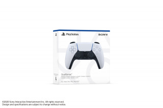 PlayStation®5 (PS5) DualSense™ kontroller (Fehér-fekete)