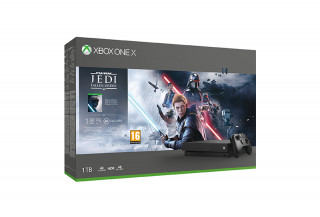 Xbox One X 1TB + Star Wars Jedi Fallen Order (Bontott) XBOX ONE