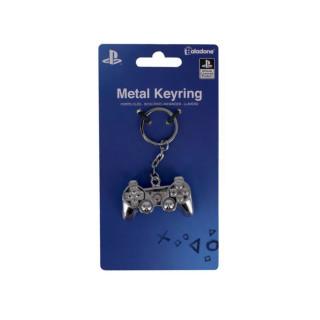 PlayStation 3D fém kulcstartó AJÁNDÉKTÁRGY