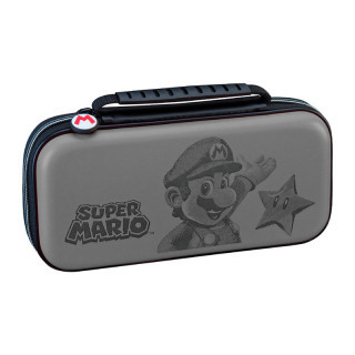 Switch Game Traveler Deluxe Travel Case RDS Mario Grey (BigBen) Nintendo Switch