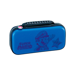 Switch Game Traveler Deluxe Travel Case RDS Mario Blue (BigBen) Switch