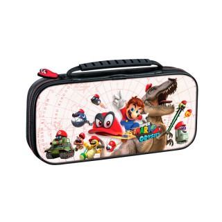Switch Game Traveler Deluxe Travel Case RDS Super Mario Odyssey White (BigBen) Switch