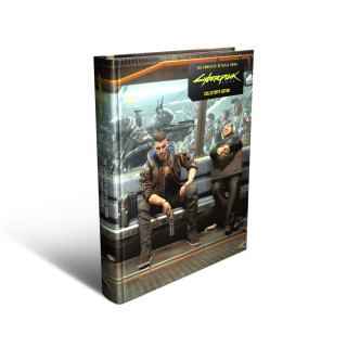 Cyberpunk 2077 The Complete Official Guide Collector's Edition AJÁNDÉKTÁRGY