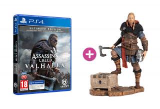 Assassin's Creed Valhalla Ultimate Edition + Eivor szobor PS4