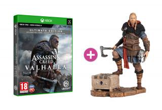 Assassin's Creed Valhalla Ultimate Edition + Eivor szobor XBOX ONE
