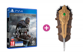 Assassin's Creed Valhalla Ultimate Edition + Hidden Blade PS4