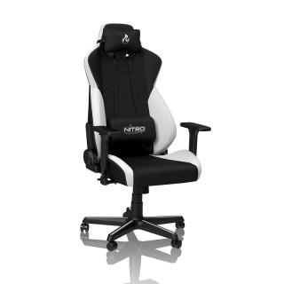 Nitro Concepts S300 Radiant White gaming szék fekete-fehér (NC-S300-BW) (Bontott)