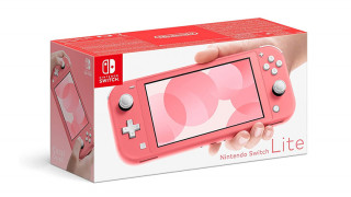 Nintendo Switch Lite (Korall) (használt) Nintendo Switch