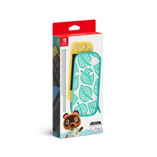Nintendo Switch Lite hordozótáska és képernyővédő (Animal Crossing: New Horizons Edition) Nintendo Switch