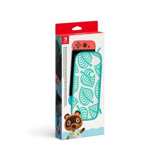 Nintendo Switch hordozótáska és képernyővédő (Animal Crossing: New Horizons Edition) Nintendo Switch