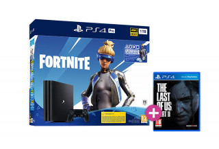 PlayStation 4 (PS4) Pro 1TB + Fortnite Neo Versa Bundle + The Last of Us Part II PS4