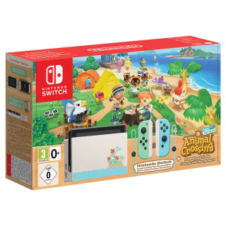 Nintendo Switch + Animal Crossing: New Horizons Edition