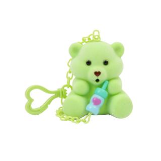 Bájos Bocsok plüssmaci - zöld