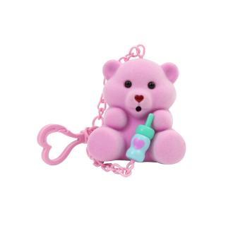 Bájos Bocsok plüssmaci - rózsaszín AJÁNDÉKTÁRGY