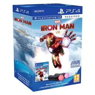 Marvel's Iron Man VR + 2 PlayStation Move Motion Kontroller PS4