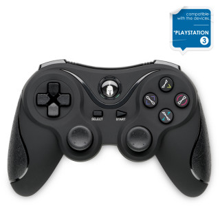 Spartan Gear - Wireless Controller Black - Vezeték nélküli Fekete Kontroller