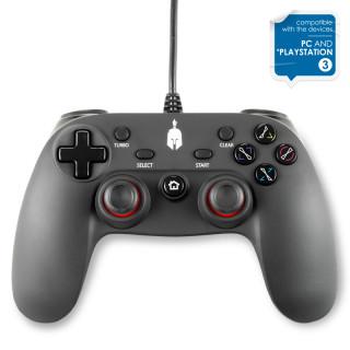 Spartan Gear - Oplon Wired Controller Black - Vezetékes Fekete Kontroller
