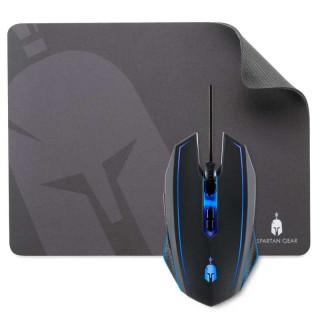 Spartan Gear - Phalanx Wired Gaming Mouse & Mousepad - Vezetékes Gamer Egér és Egérpad