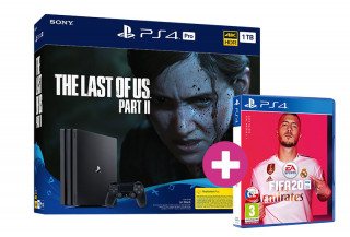 PlayStation 4 Pro 1TB + The Last of Us Part II + FIFA 20