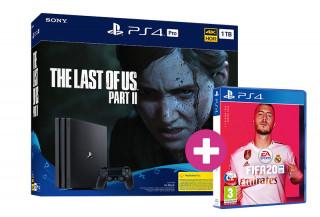 PlayStation 4 Pro 1TB + The Last of Us Part II + FIFA 20