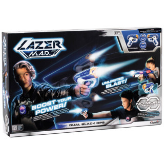 Lazer M.A.D.: Dual Black Ops sugárvető készlet