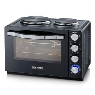 Severin TO2065 Mini konyha (Grill, Sütő, Dupla főzőlap)