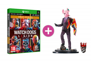 Watch Dogs Legion Gold Edition + Resistant of London szobor
