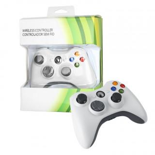 XBOX 360 Vezeték nélküli Kontroller Fehér (PRCX360WLSSW)