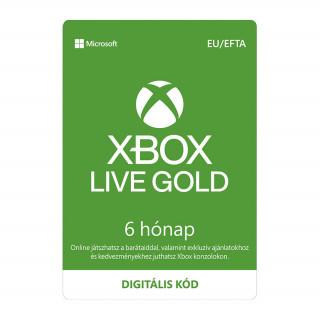 Xbox Live Gold 6 hónapos előfizetés (letölthető) Xbox One