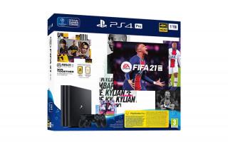 PlayStation 4 Pro (PS4) 1TB + FIFA 21 + második DualShock 4 kontroller