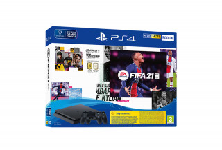 PlayStation 4 (PS4) Slim 500GB + FIFA 21 + második DualShock 4 kontroller