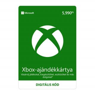 5990 forintos Microsoft XBOX ajándékkártya digitális kód Xbox One