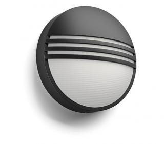 Yarrow 4000K wall lantern black 1x6W 230 17296/30/P3 Otthon